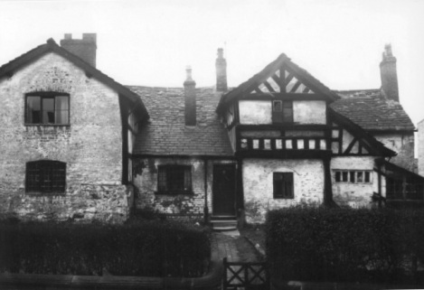 The plague house as it appeared until its demolition [4].