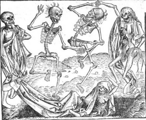 The Danse Macabre - one of many.